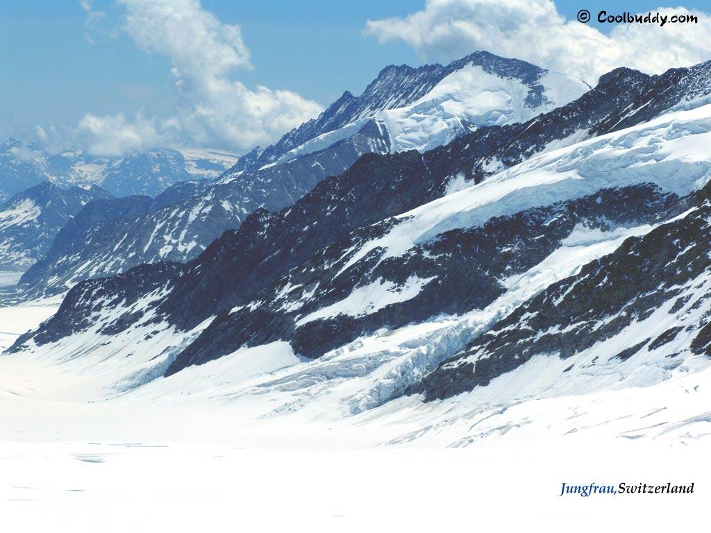 Switzerland Wallpapers Switzerland Pictures Jungfrau Wallpapers 1024x768