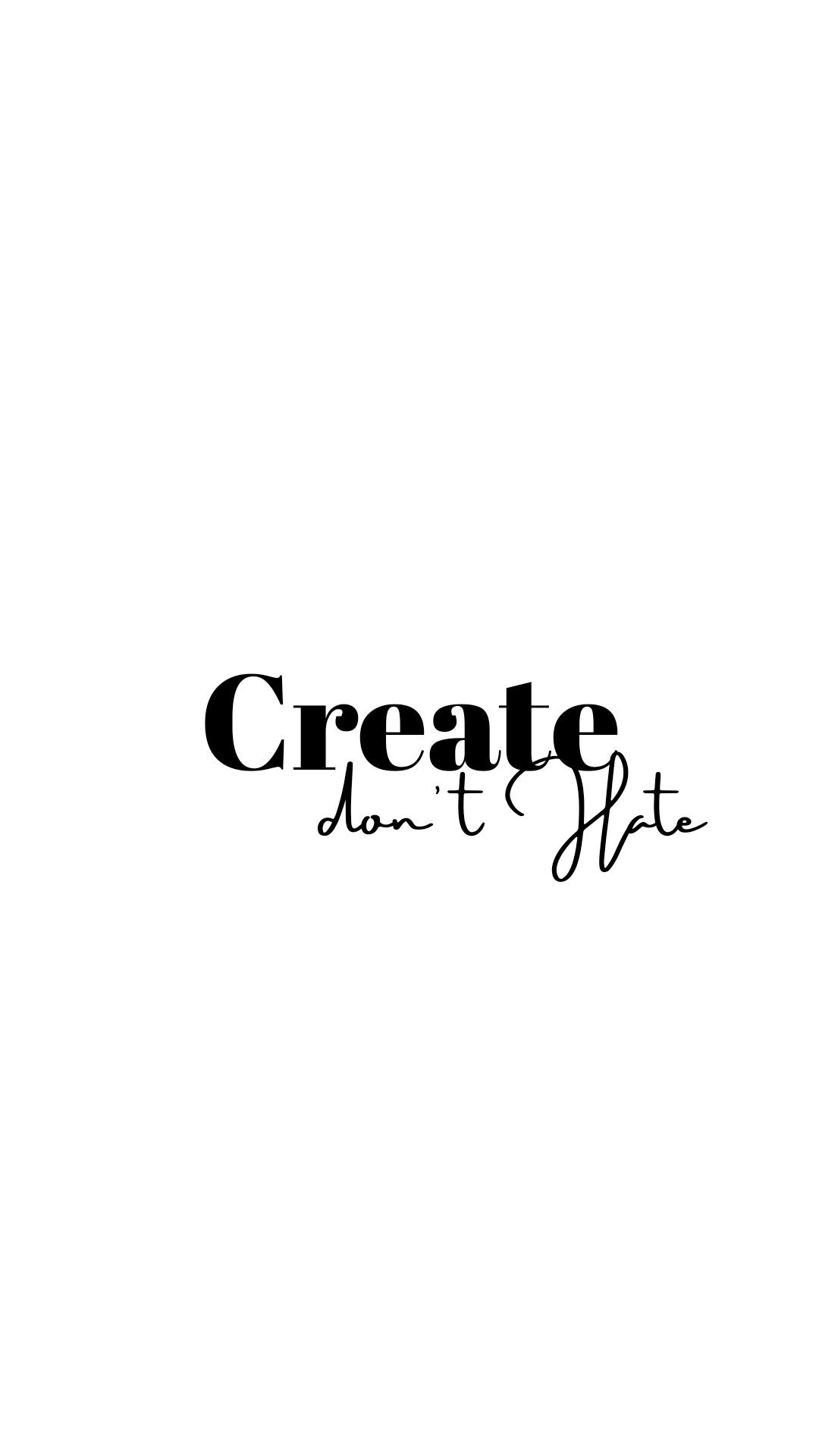 Inspiring quote Quotes white White background quotes Cute 1080x1920