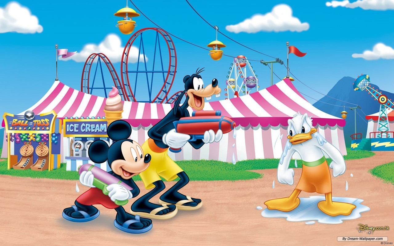 Wallpaper   Cartoon wallpaper   Disney Theme 2 wallpaper 1280x800