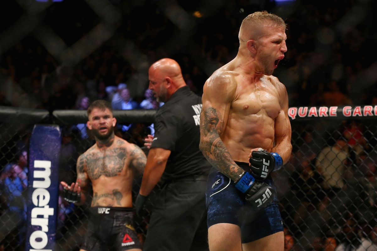 TJ Dillashaw claims hes going to ruin Cody Garbrandts career 1200x800