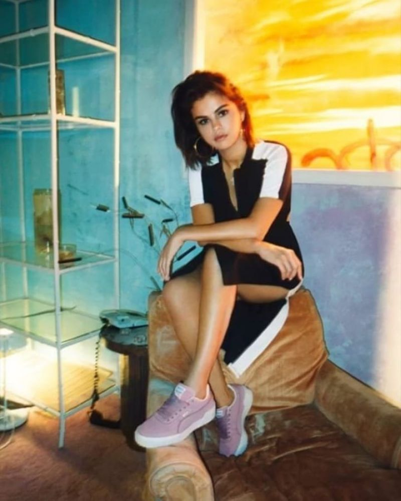 SELENA GOMEZ for Puma Photoshoot 2019 HawtCelebs 800x1000
