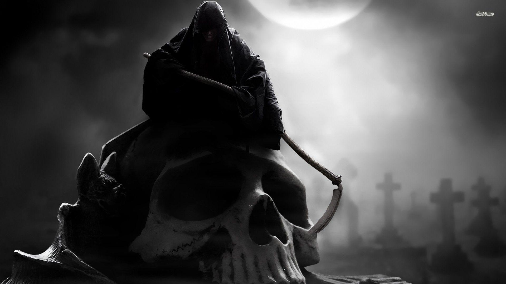 фэнтези графика женщина Grim Reaper  № 3256228 бесплатно