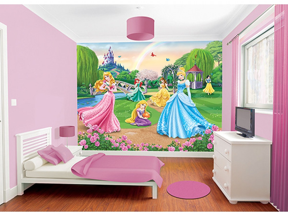 Disney Princess Wallpaper Mural Wallpaper from FADS 1000x750