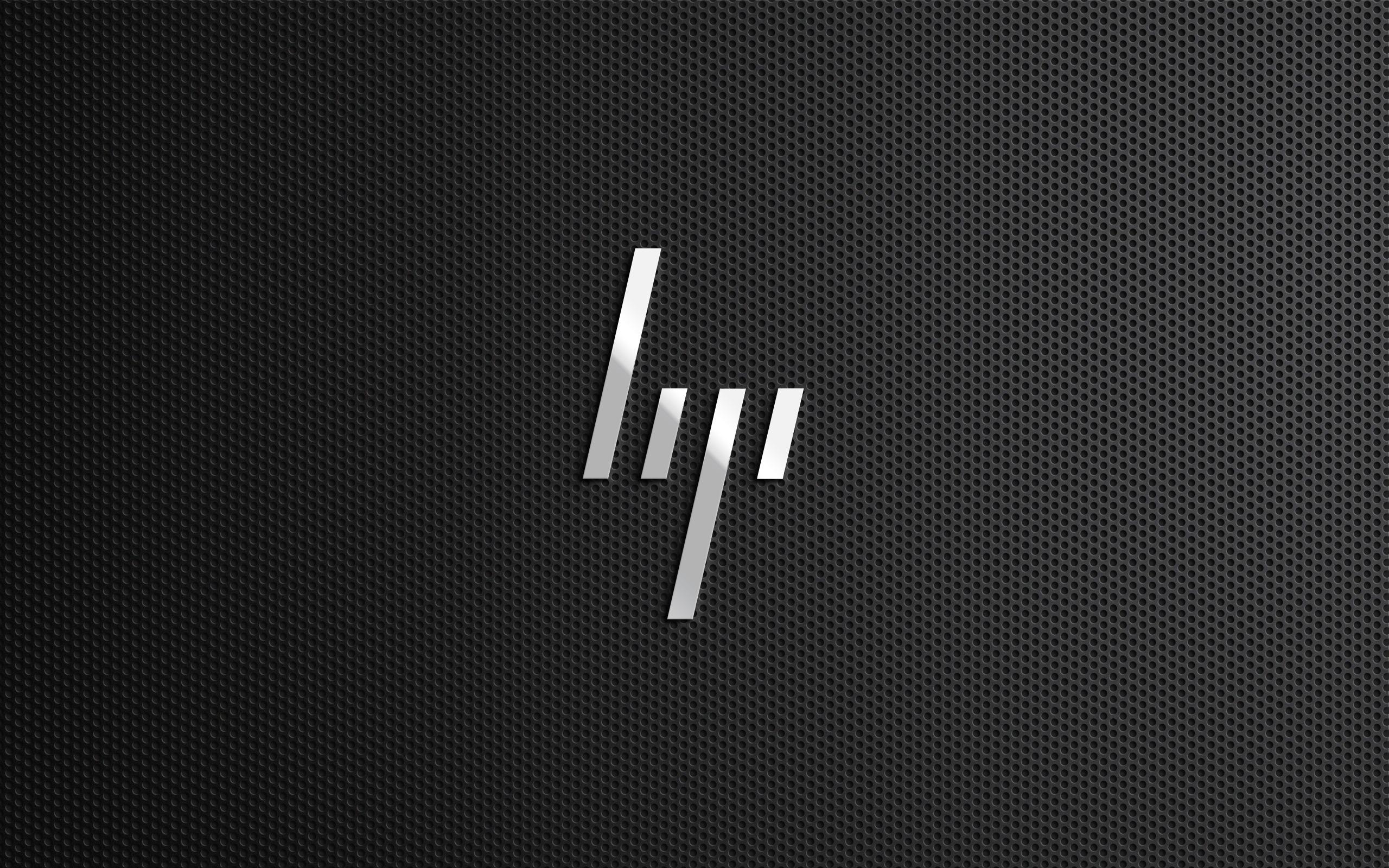 2560x1600 HP Logo desktop PC and Mac wallpaper 2560x1600