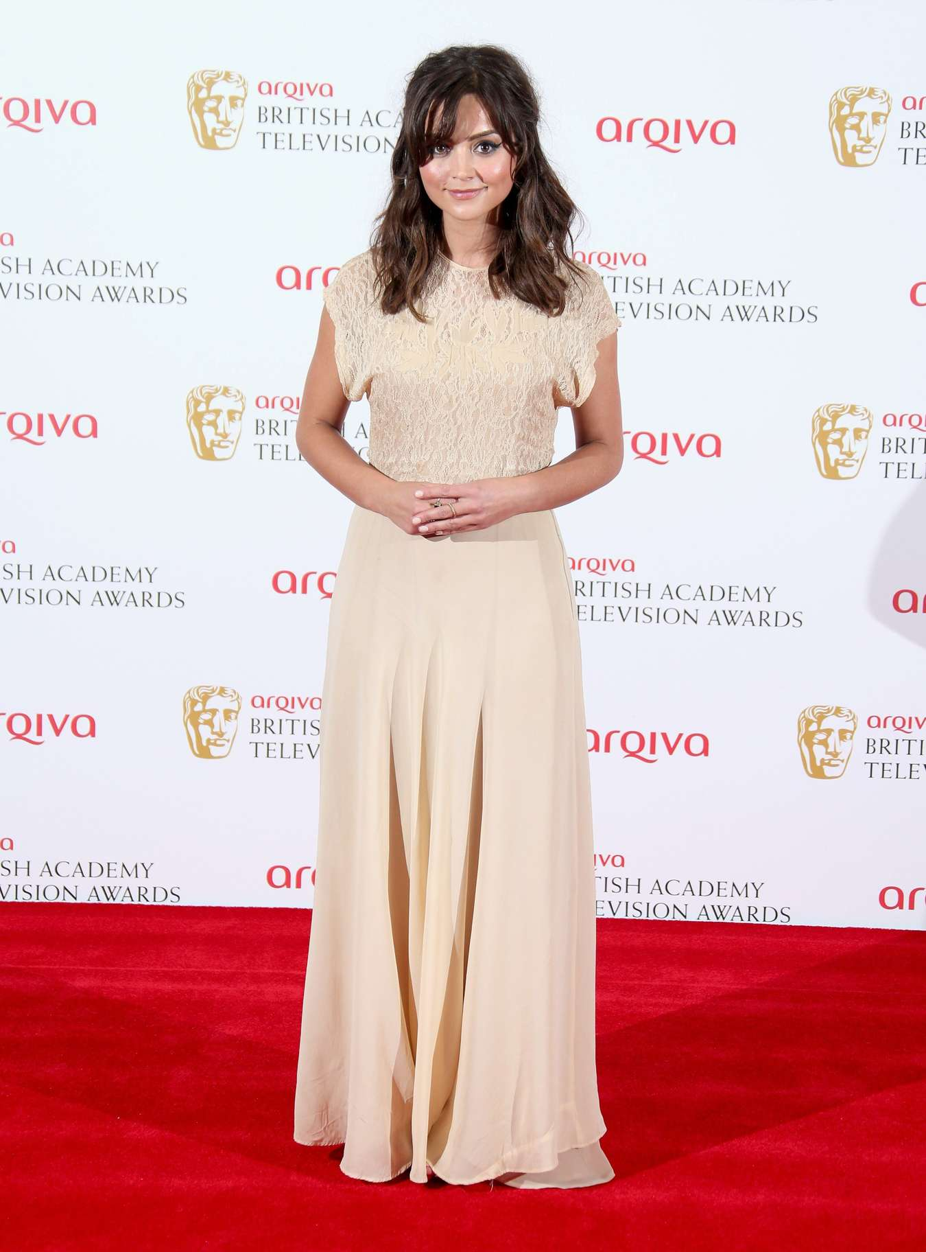 Jenna Louise Coleman   2013 BAFTA  08   GotCeleb 1350x1824