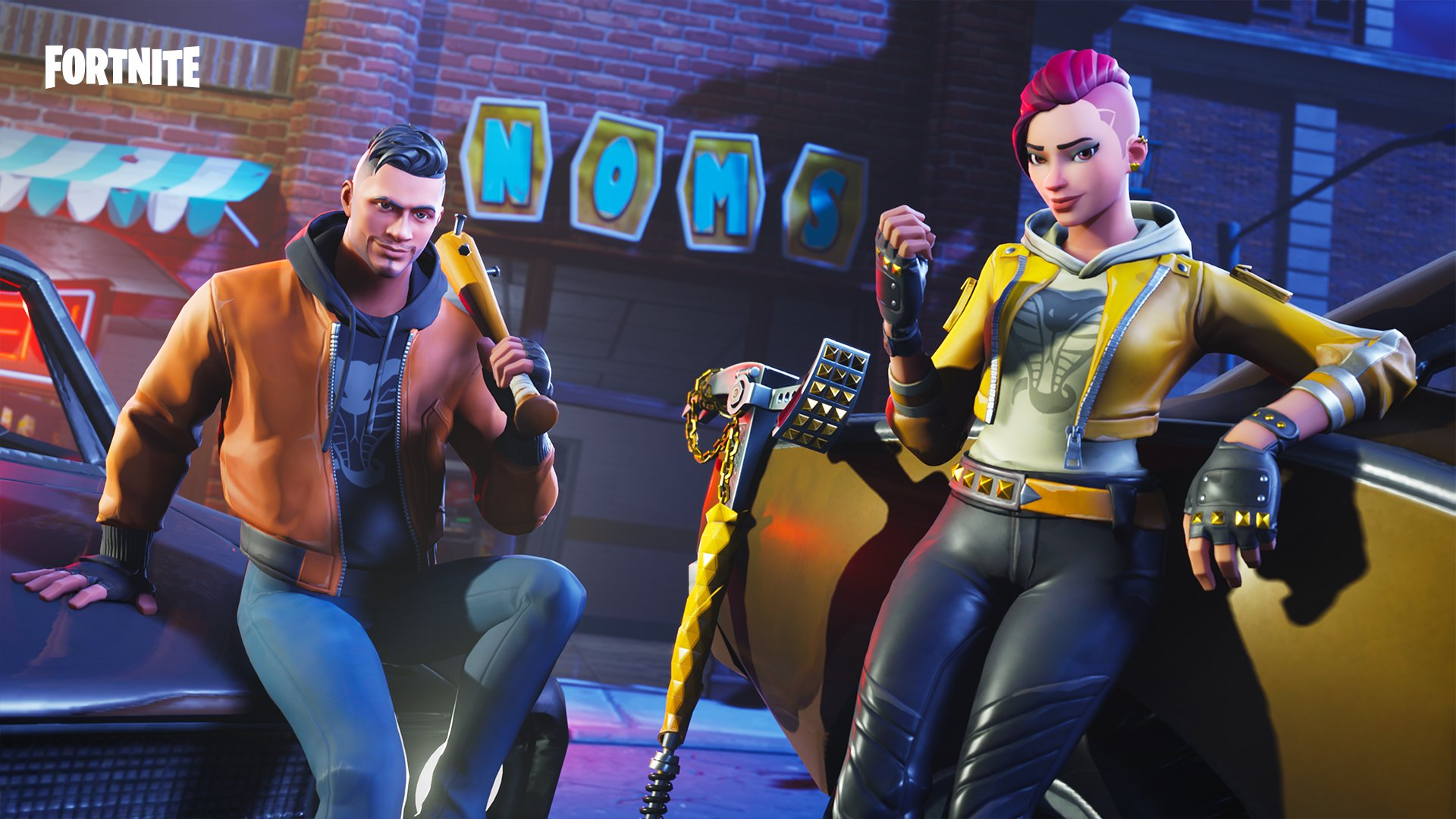 Maverick and Shade FortNiteBR 1920x1080