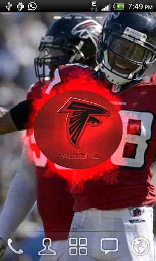 View bigger   Atlanta Falcons Live Wallpaper for Android screenshot 307x512