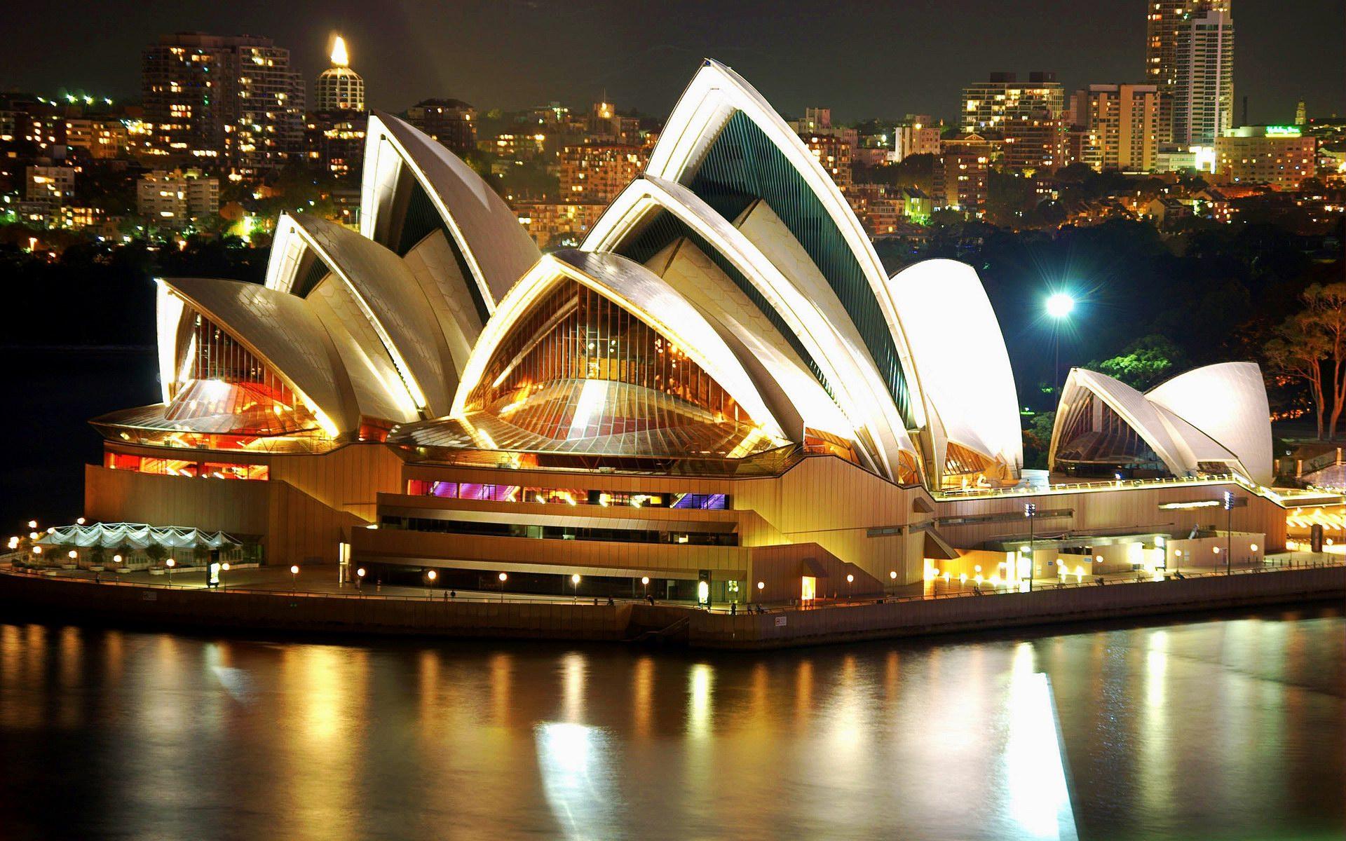 Sydney Opera House Stunning Wallpaper   Travel HD Wallpapers 1920x1200