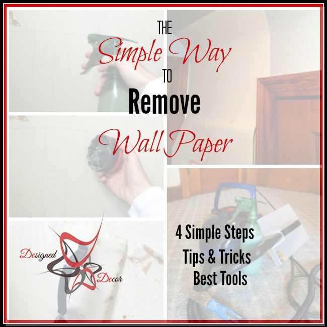 Simple Way to Remove Wallpaper 650x650
