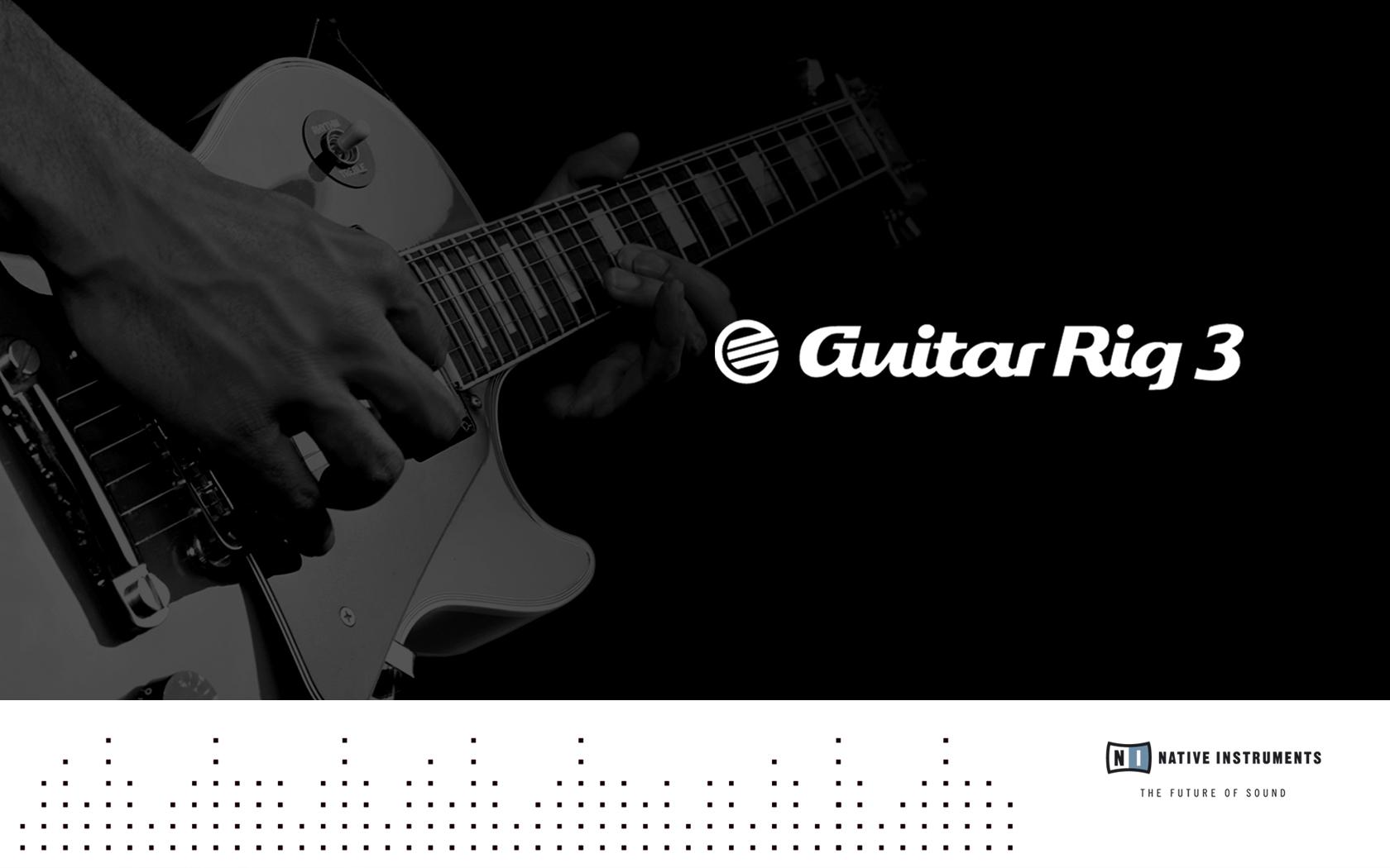 Guitar Rig 3 Native Instruments Wallpaper World Wallpaper Collection 1680x1050