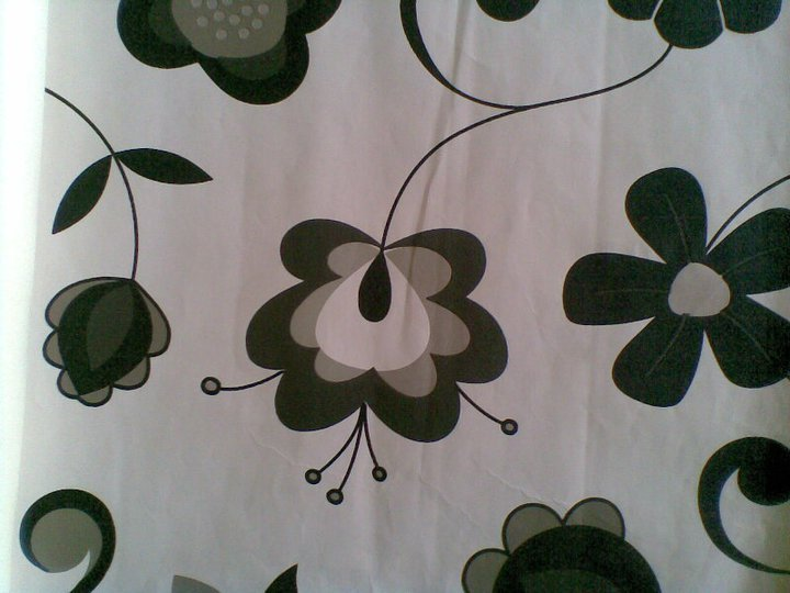 bold patterned wallpaper Such as floral floral display in the room 720x540