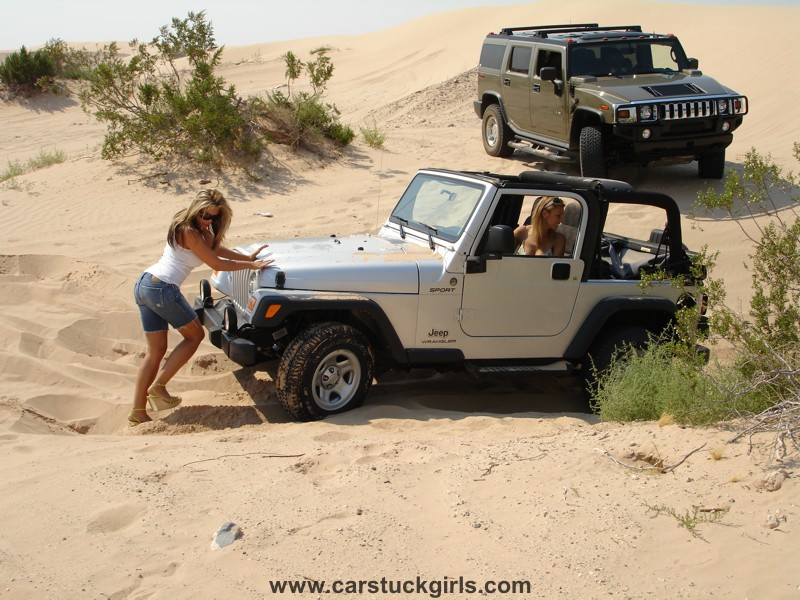 Win A Jeep Wrangler Unlimited >> Jeep and Girl Wallpaper - WallpaperSafari
