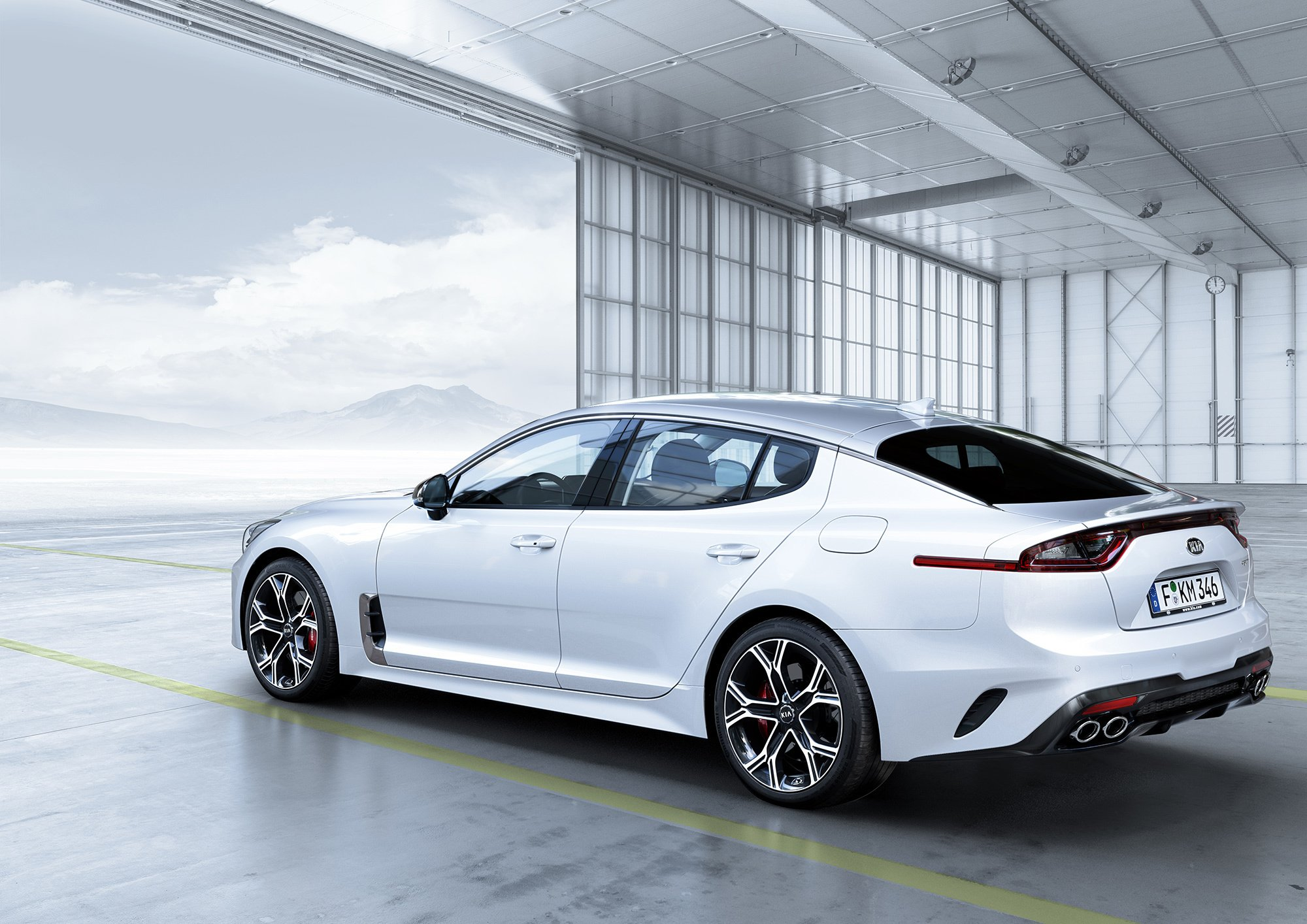 Kia Stinger Wallpapers And Backgrounds 2000x1414