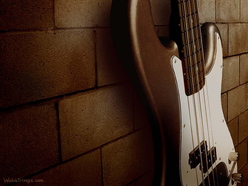 Wallpaper   Guitar Art   Guitar Strings   Webstrings   p bass wall 1024x768