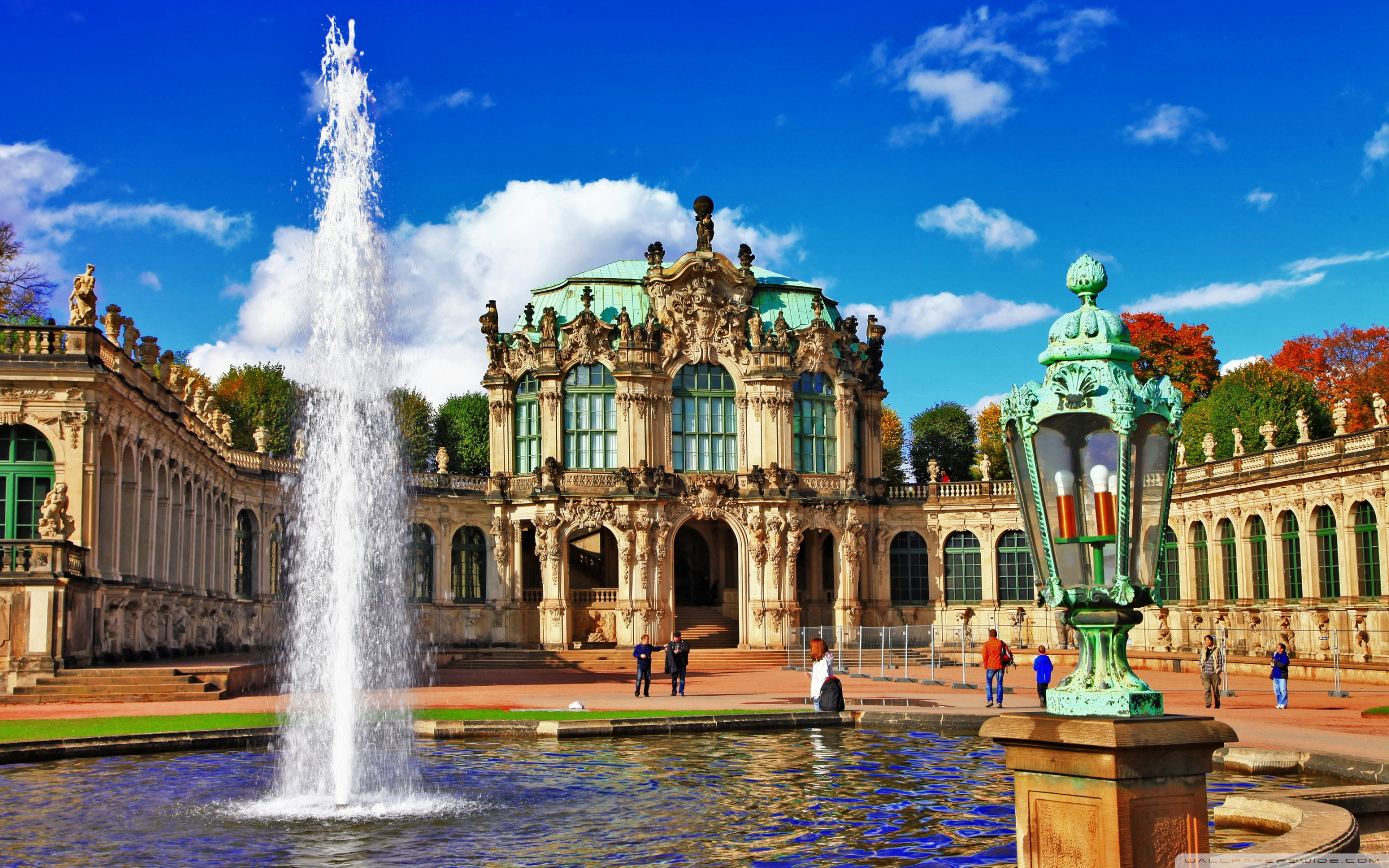 Zwinger Dresden Wallpaper 2   2560 X 1600 stmednet 2560x1600