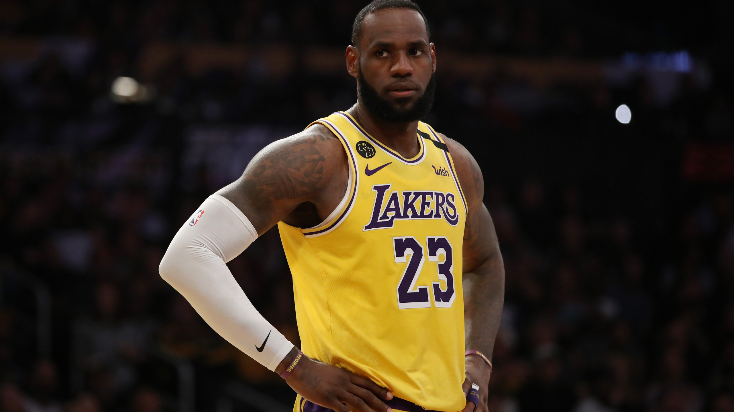 Nothing is normal in 2020 LeBron says from NBA bubble ahead of 2560x1440