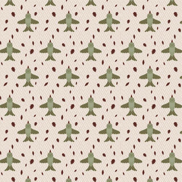 Bird Pattern Wallpaper Bird Pattern Kristyna 640x640