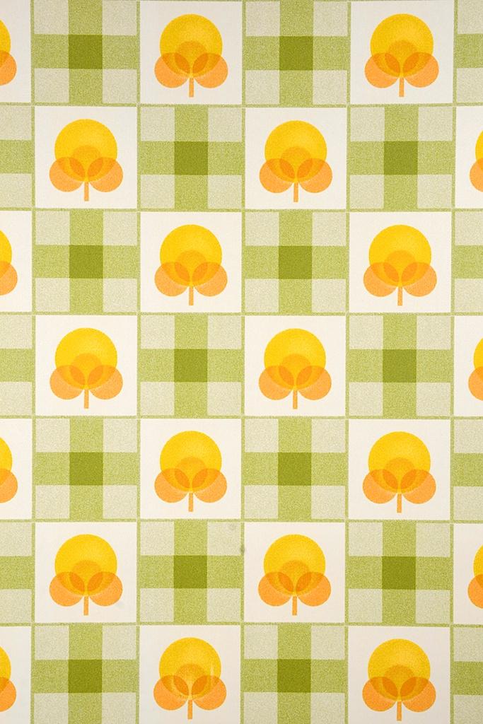 Retro Kitchen Wallpaper