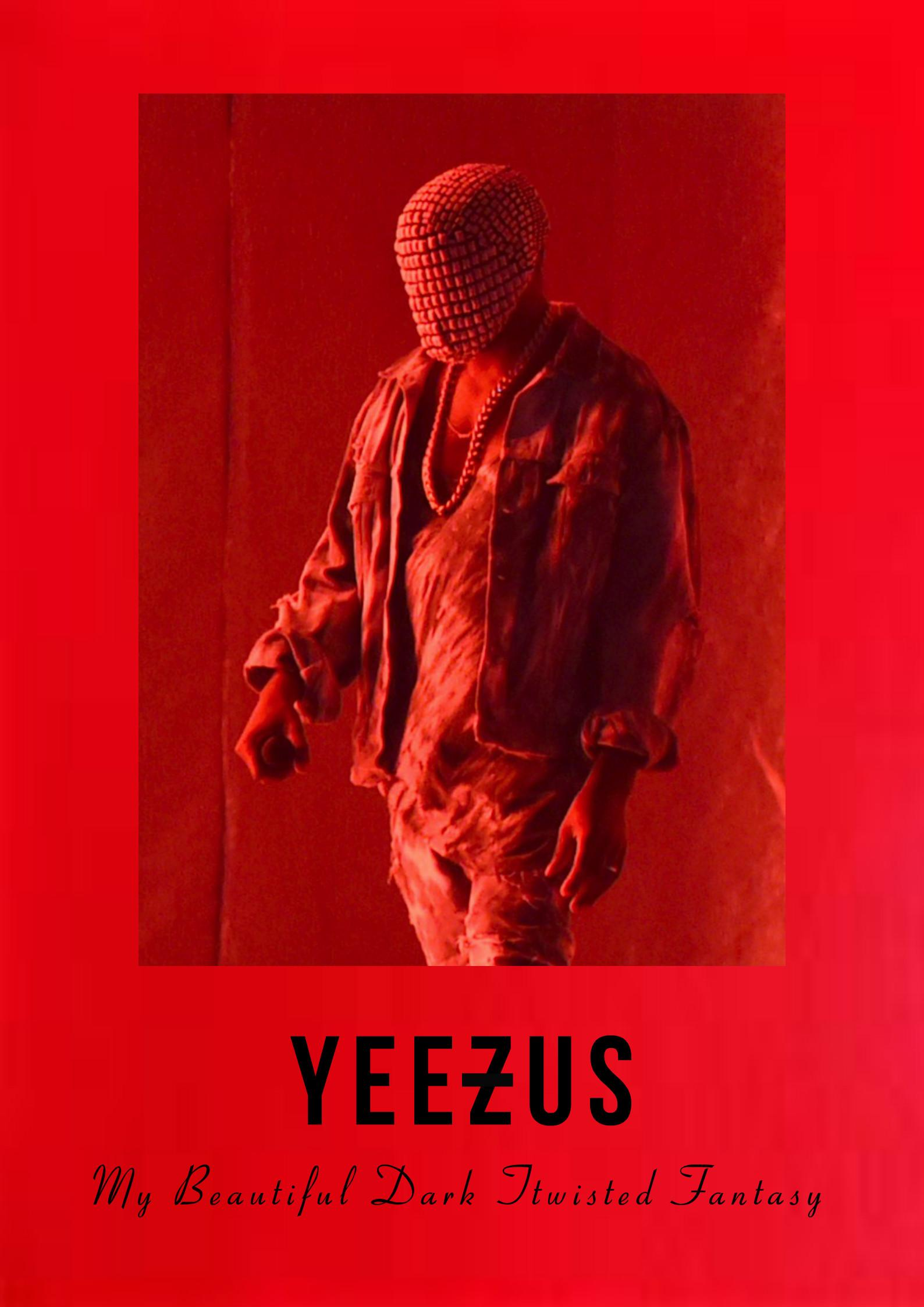 MBDTF Poster IPhone Wallpaper I Made Thought You Guys Would 1588x2246