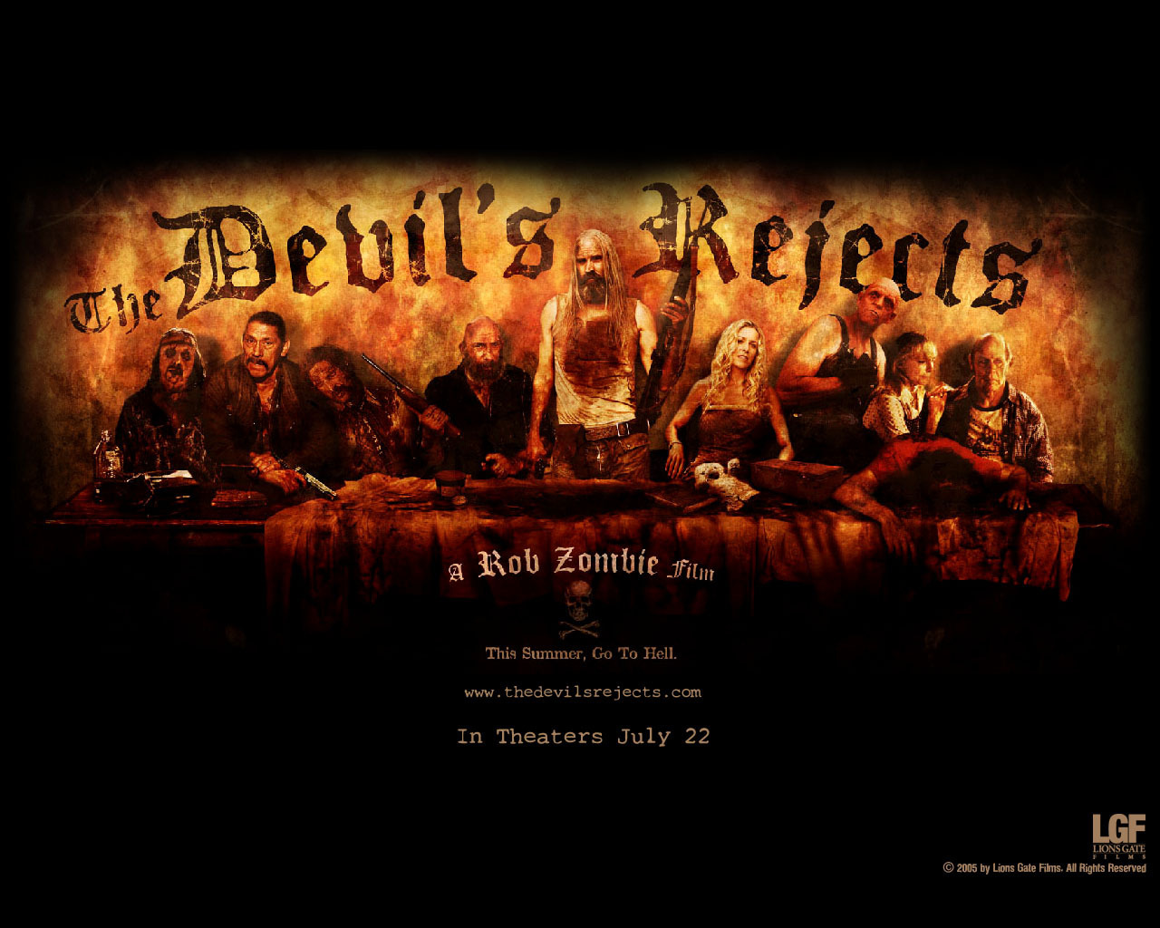 The Devils Rejects wallpapers   Horror Movies Wallpaper 6444460 1280x1024