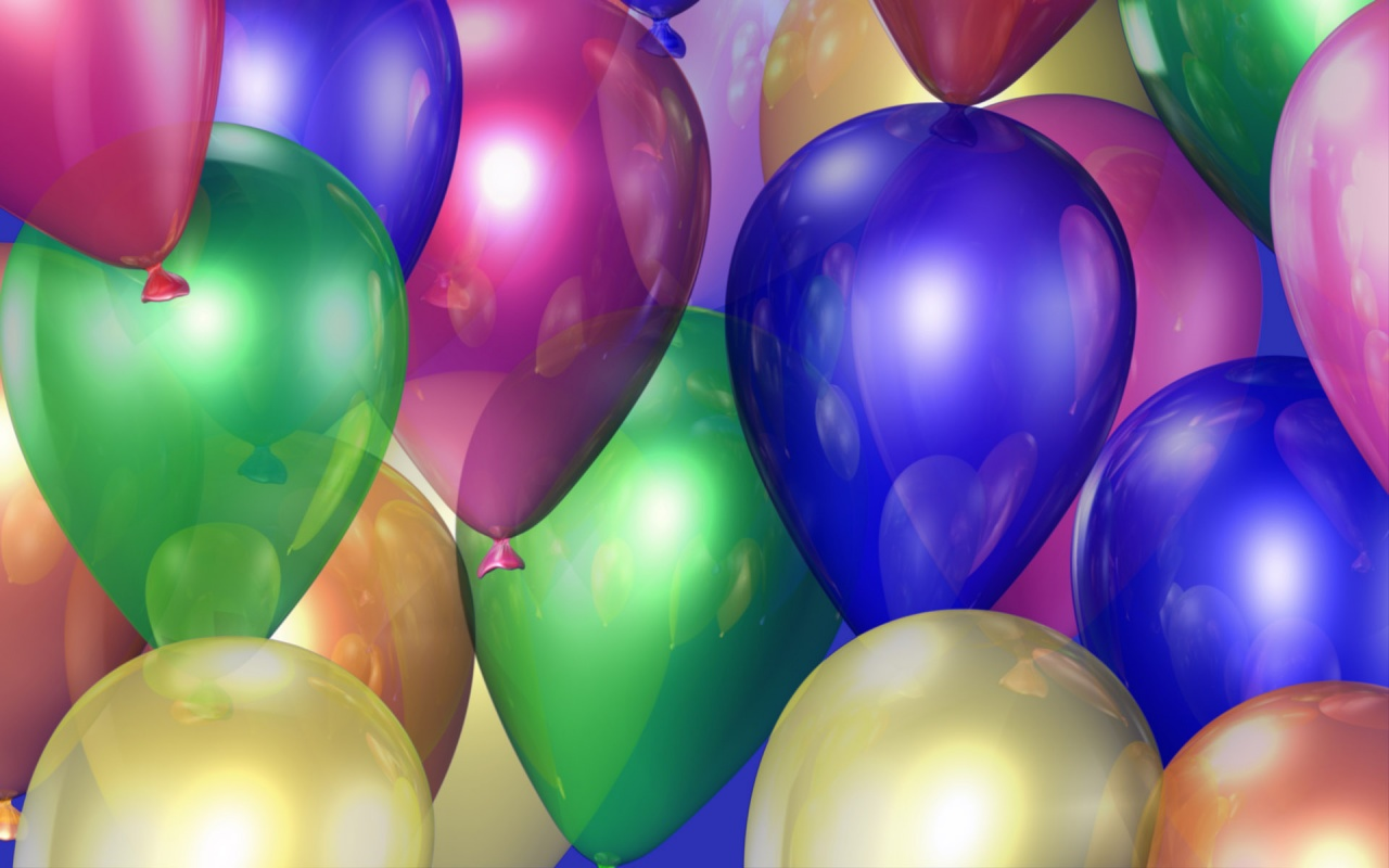 Birthday Balloon Backgrounds wallpaper wallpaper hd background 1280x800
