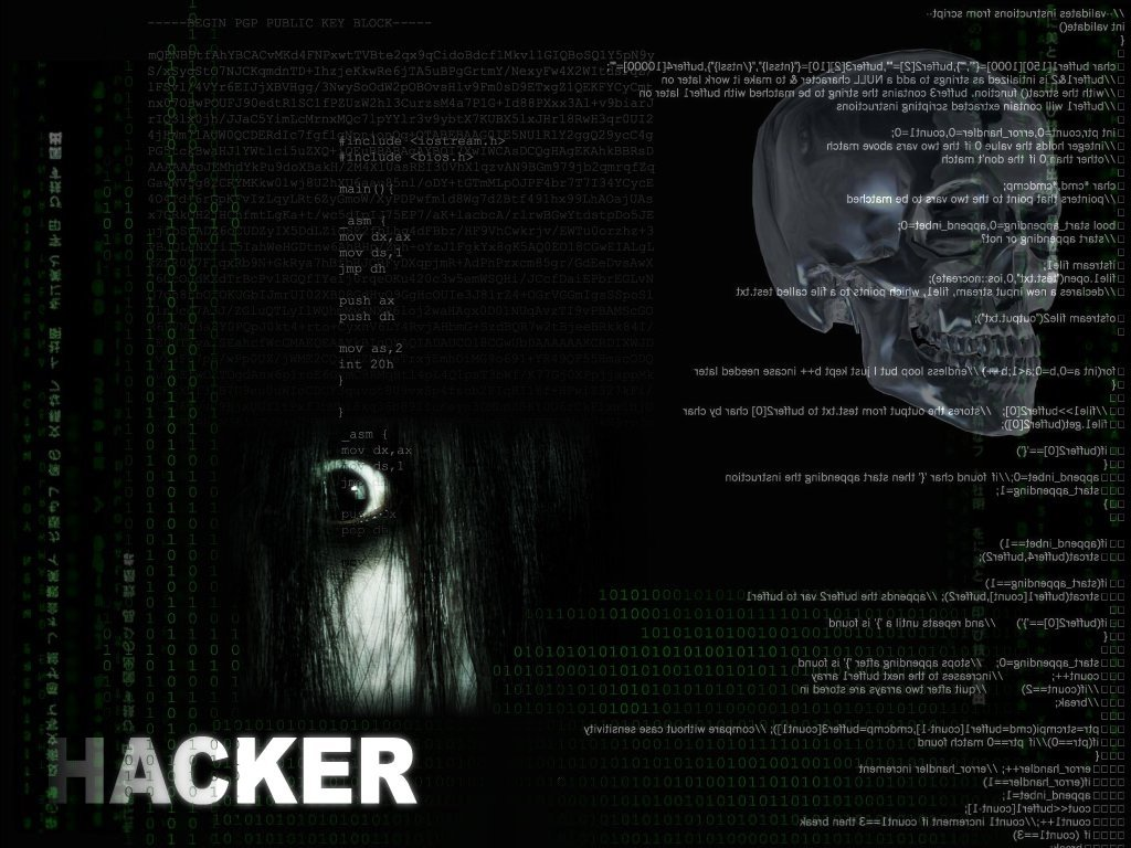 5 Hackers Wallpaper Collection 1024x768