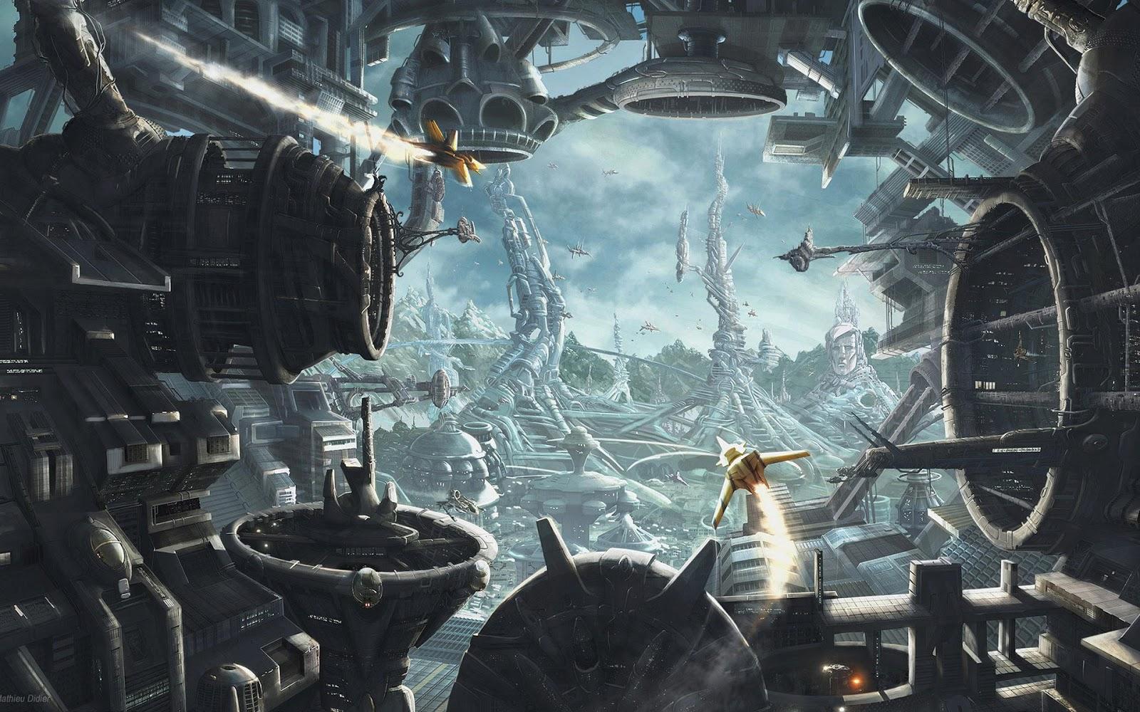 Science fiction wallpaper science fiction wallpapers wallpaper 1600x1000