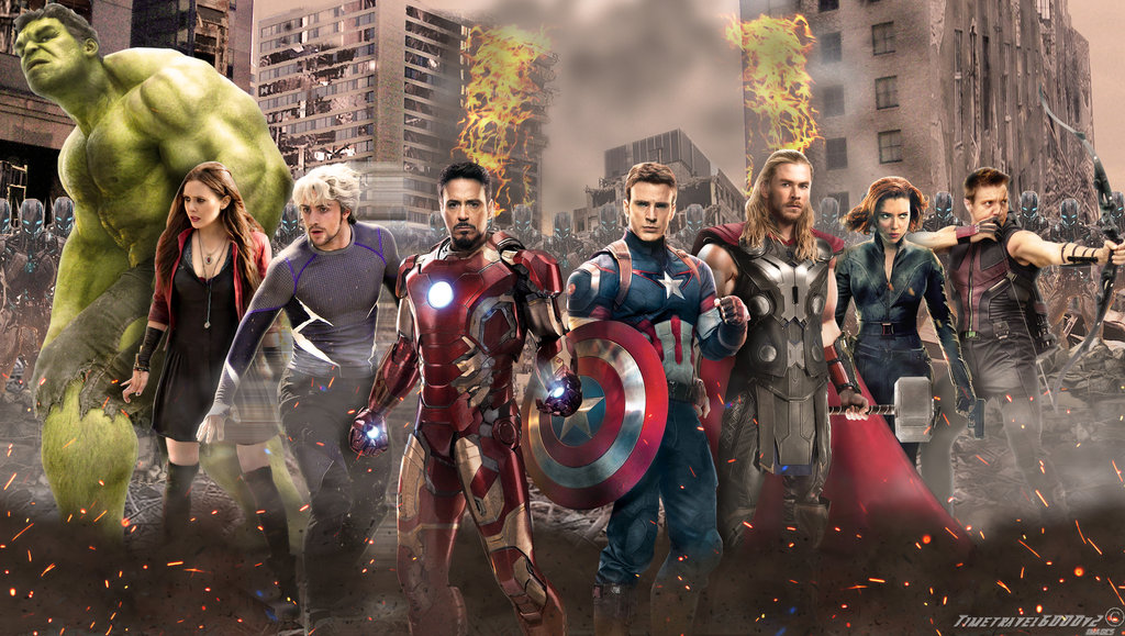 Avengers Age of Ultron Wallpaper Widescreen by Timetravel6000v2 on 1024x579