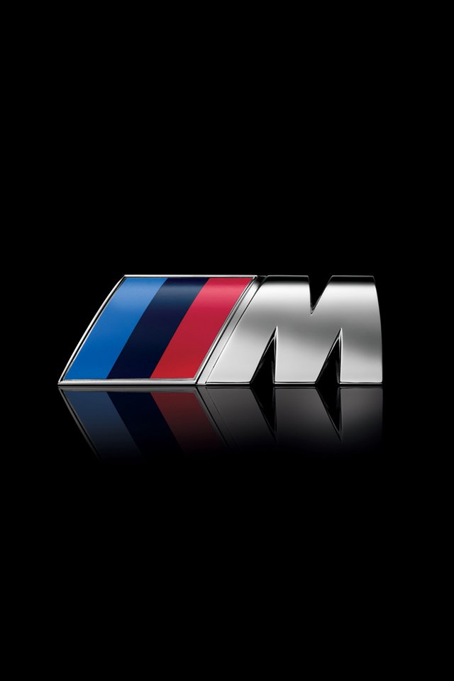 BMW M Logo iPhone Wallpaper Simply beautiful iPhone wallpapers 640x960