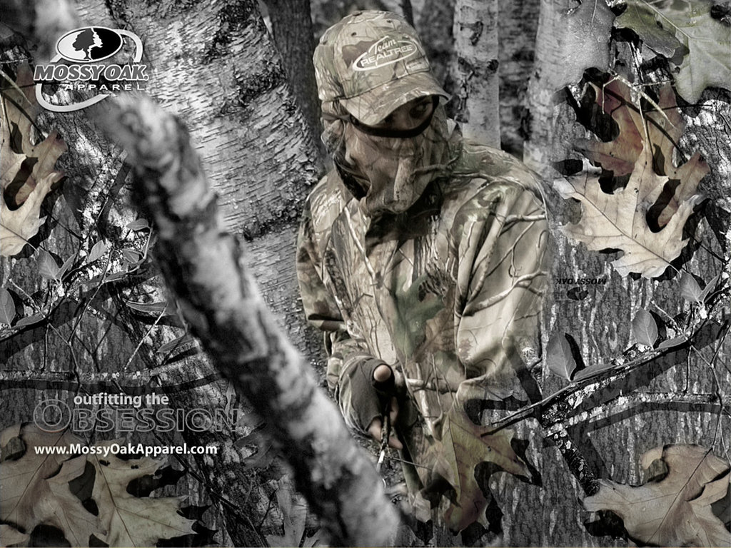 Hunting Camo Background Camouflage