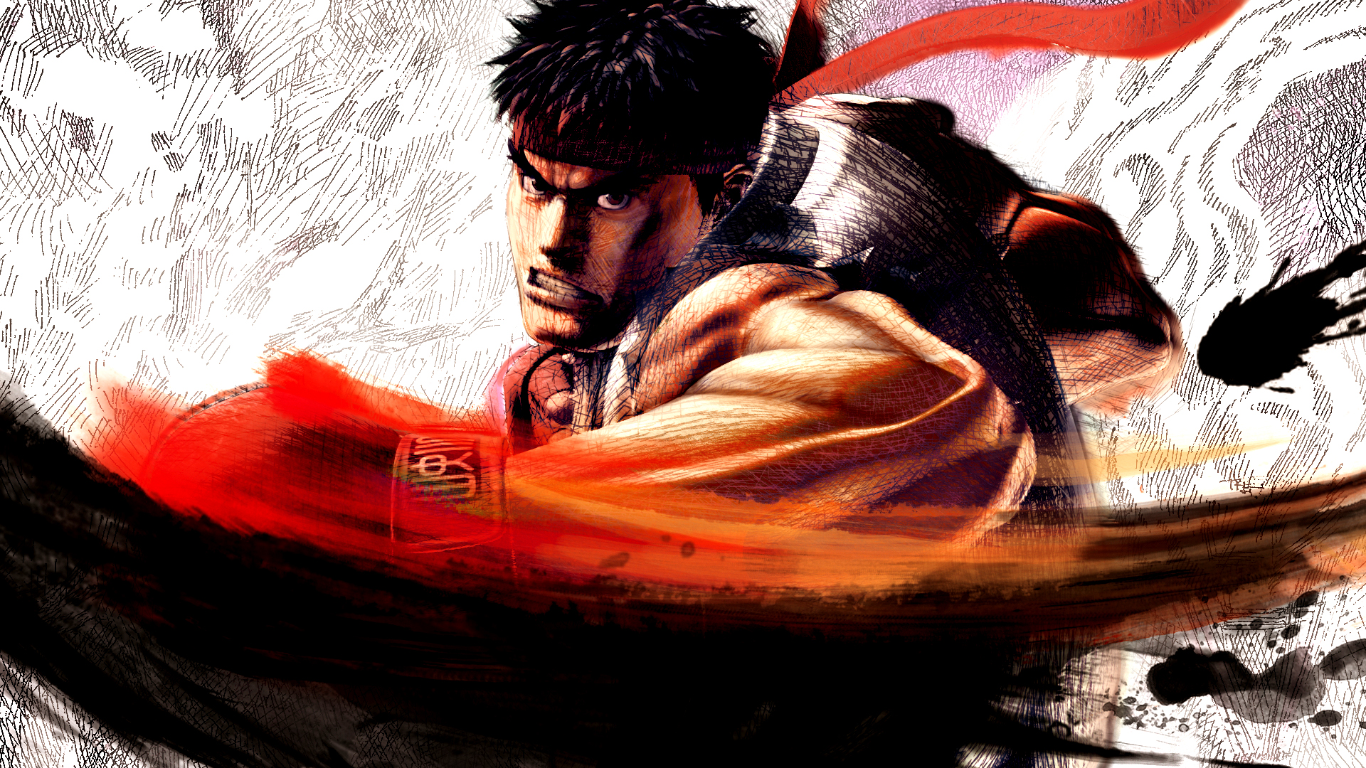 Free Download Onlyfreewallpaper Com Ryu Street Fighter Iv