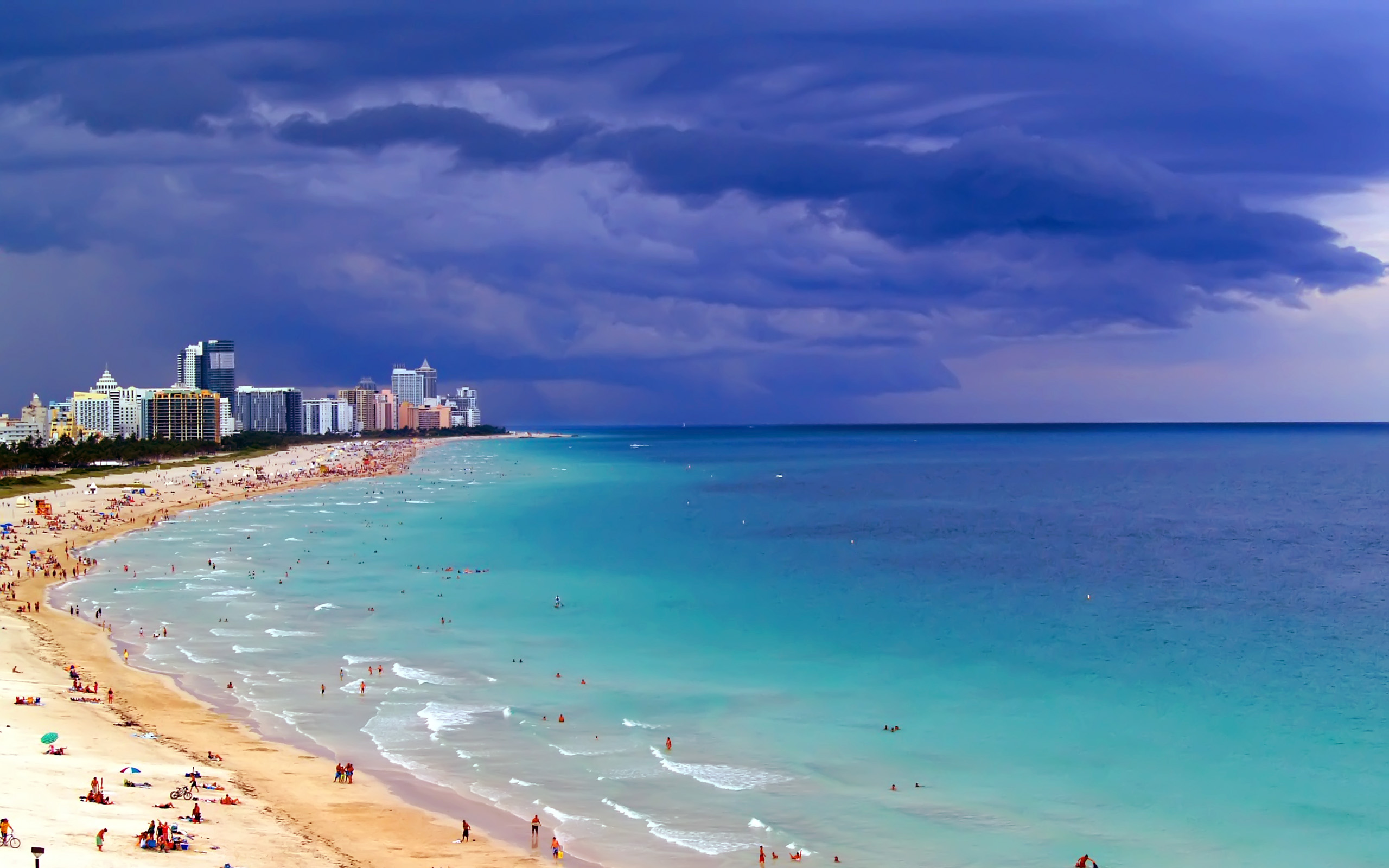 Fonds dcran Miami Beach tous les wallpapers Miami Beach 2560x1600