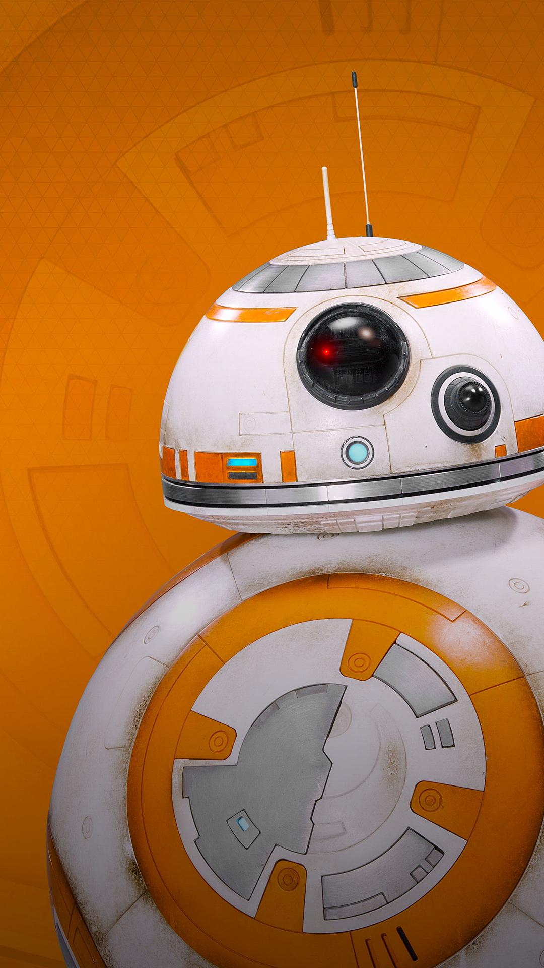 BB 8 droid iPhone 6 Plus Wallpaper 1080x1920 Star wars 1080x1920
