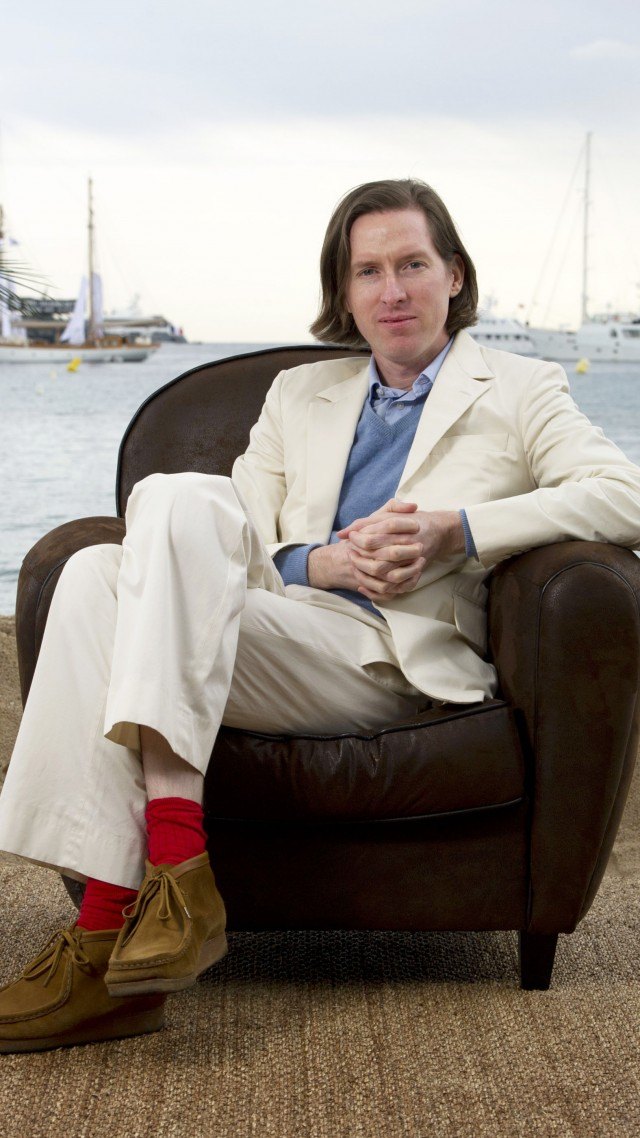 Wallpaper Wes Anderson film director screenwriter actor 640x1138