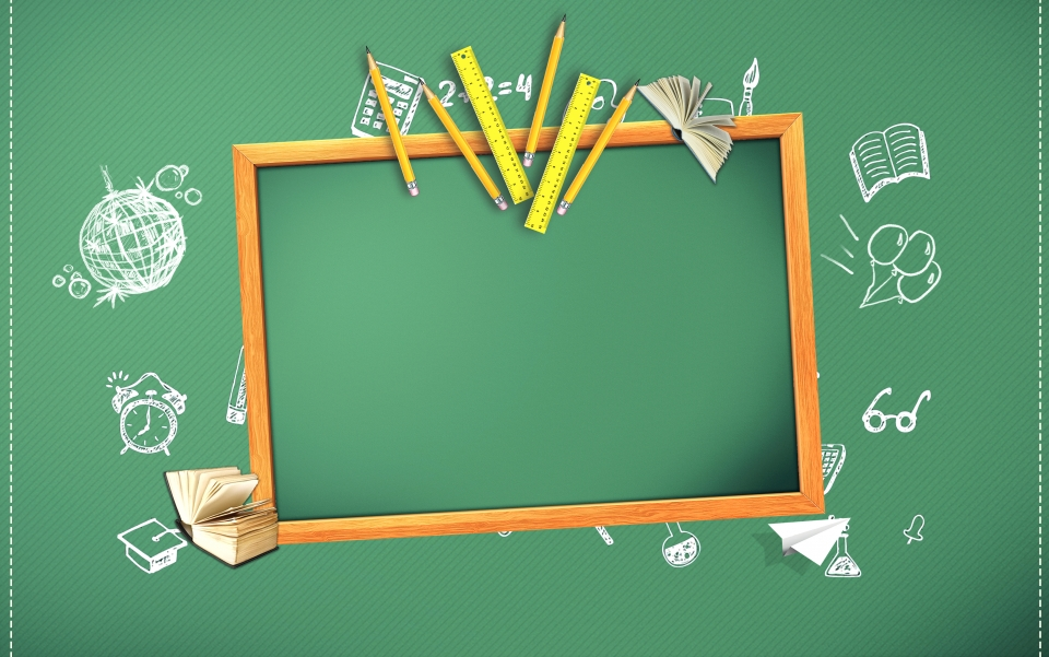 Minimalistic Blackboard Advertising Background Advertising 960x601