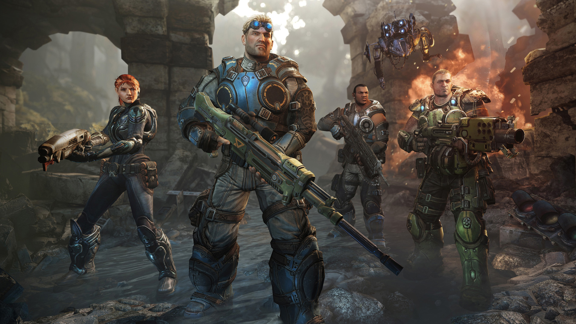 Gears of War Judgment Game Wallpapers HD Wallpapers 1920x1080
