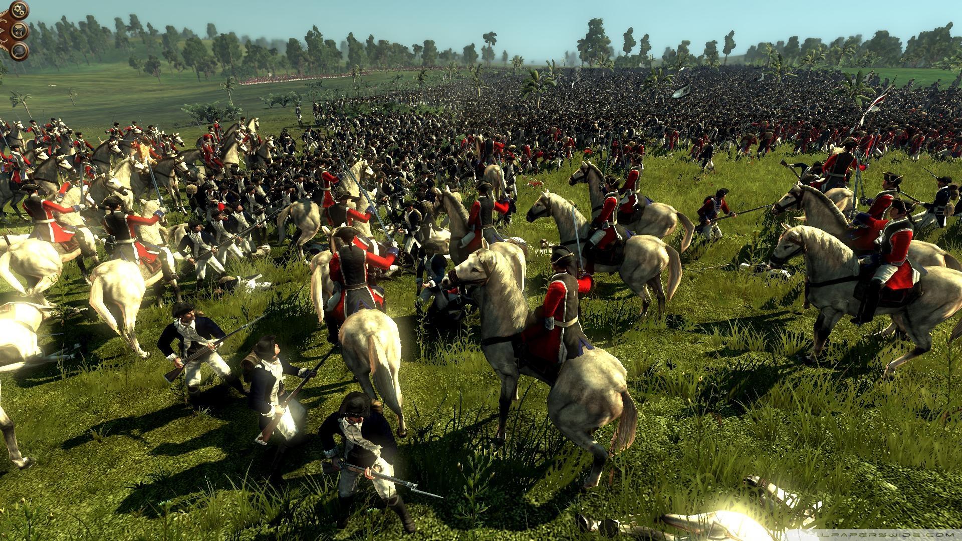 Empire Total War Battlefield Wallpaper 1920x1080 Empire Total War 1920x1080