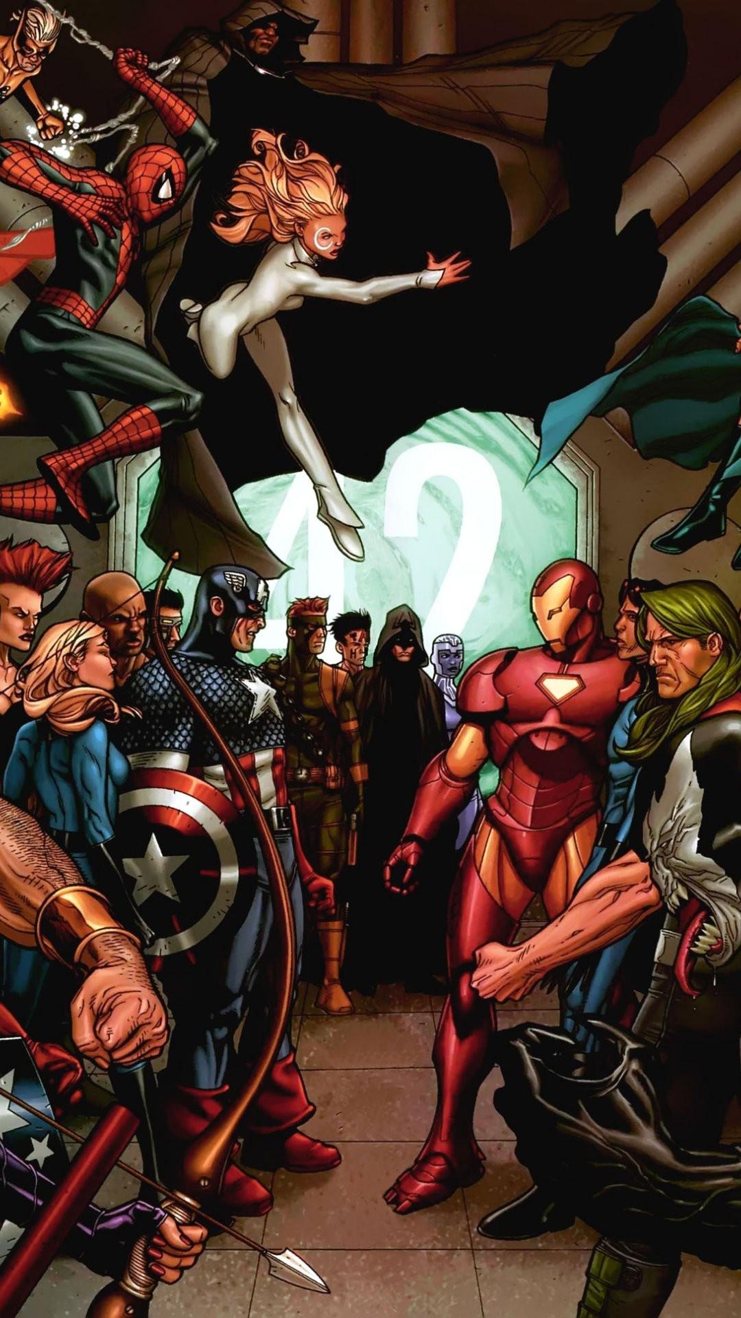 Marvel IPhone 6 Plus Wallpaper 1 1080x1920