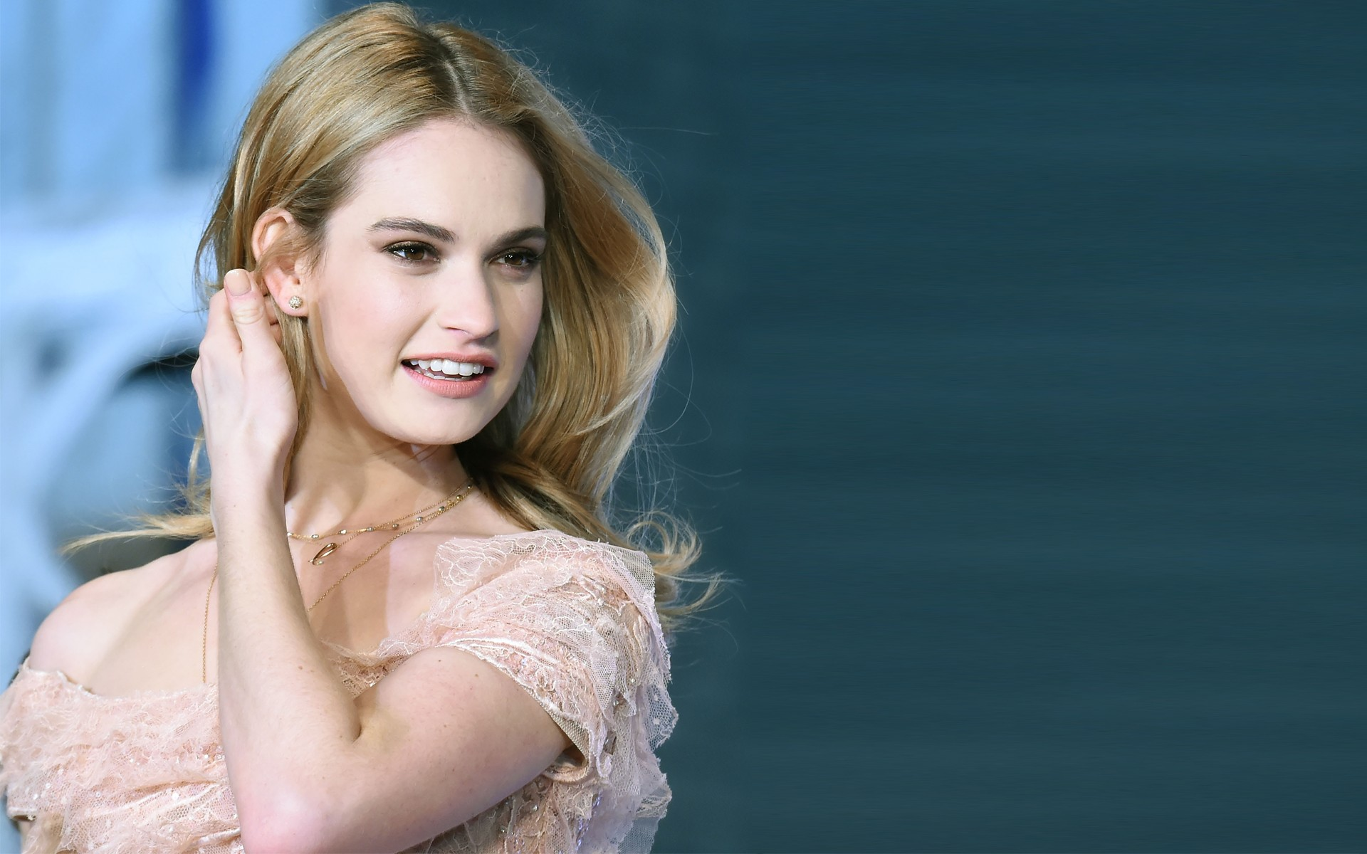 Lily James Wallpapers High Resolution and Quality Download 1920x1200
