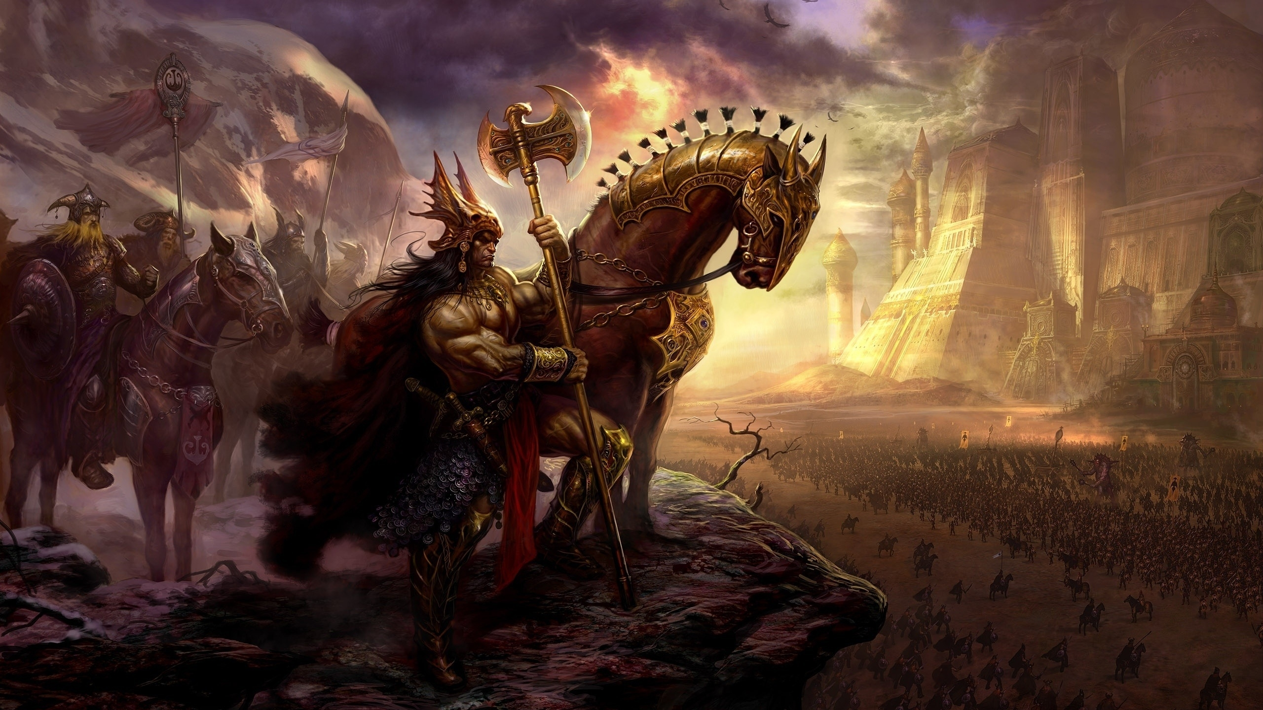 Age Of Conan Computer Wallpapers Desktop Backgrounds 2560x1440