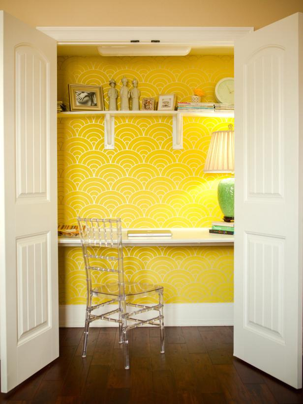 8 Home Offices in Innovative Places HGTV 616x822