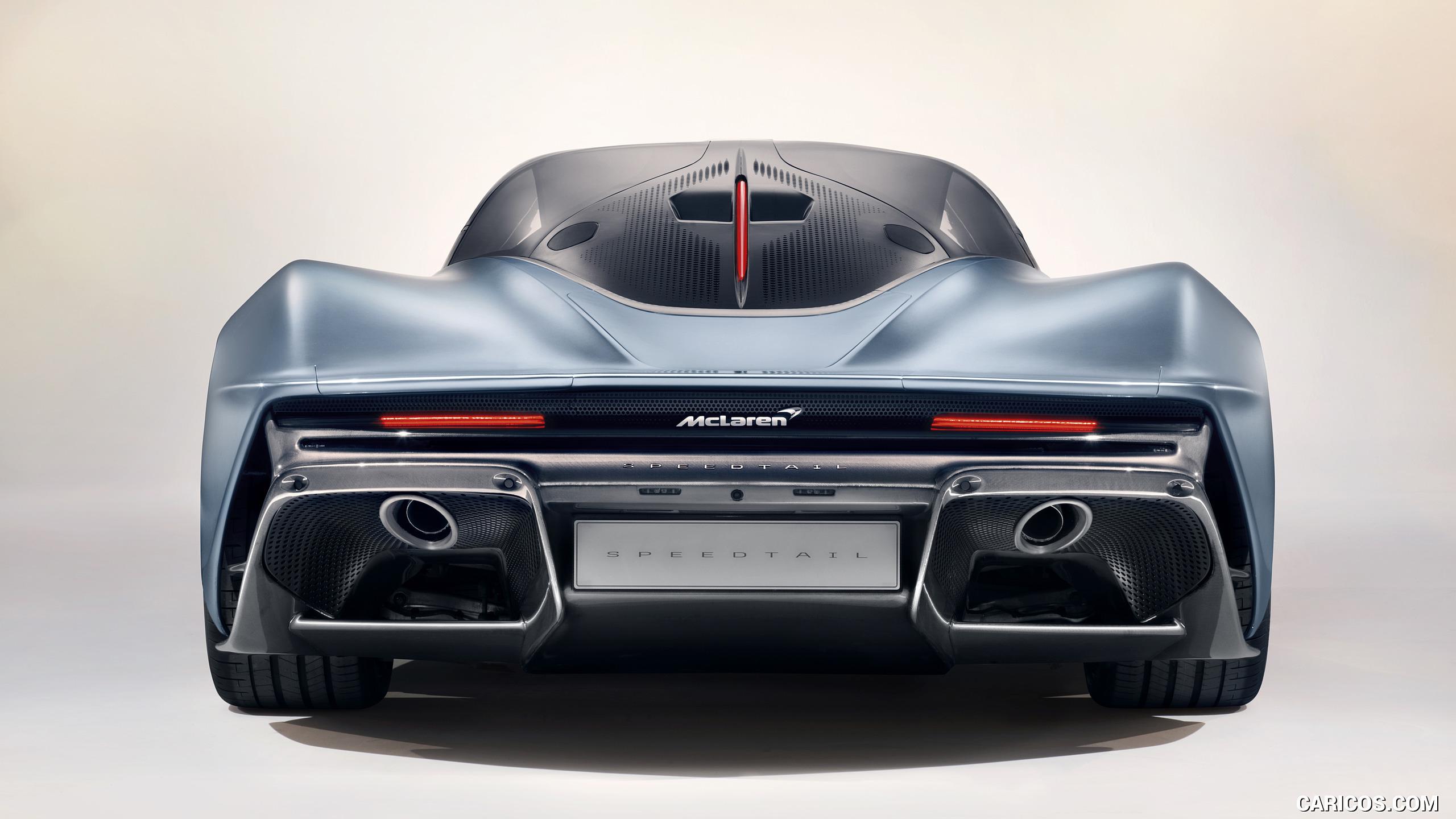 2019 McLaren Speedtail   Rear HD Wallpaper 7 2560x1440