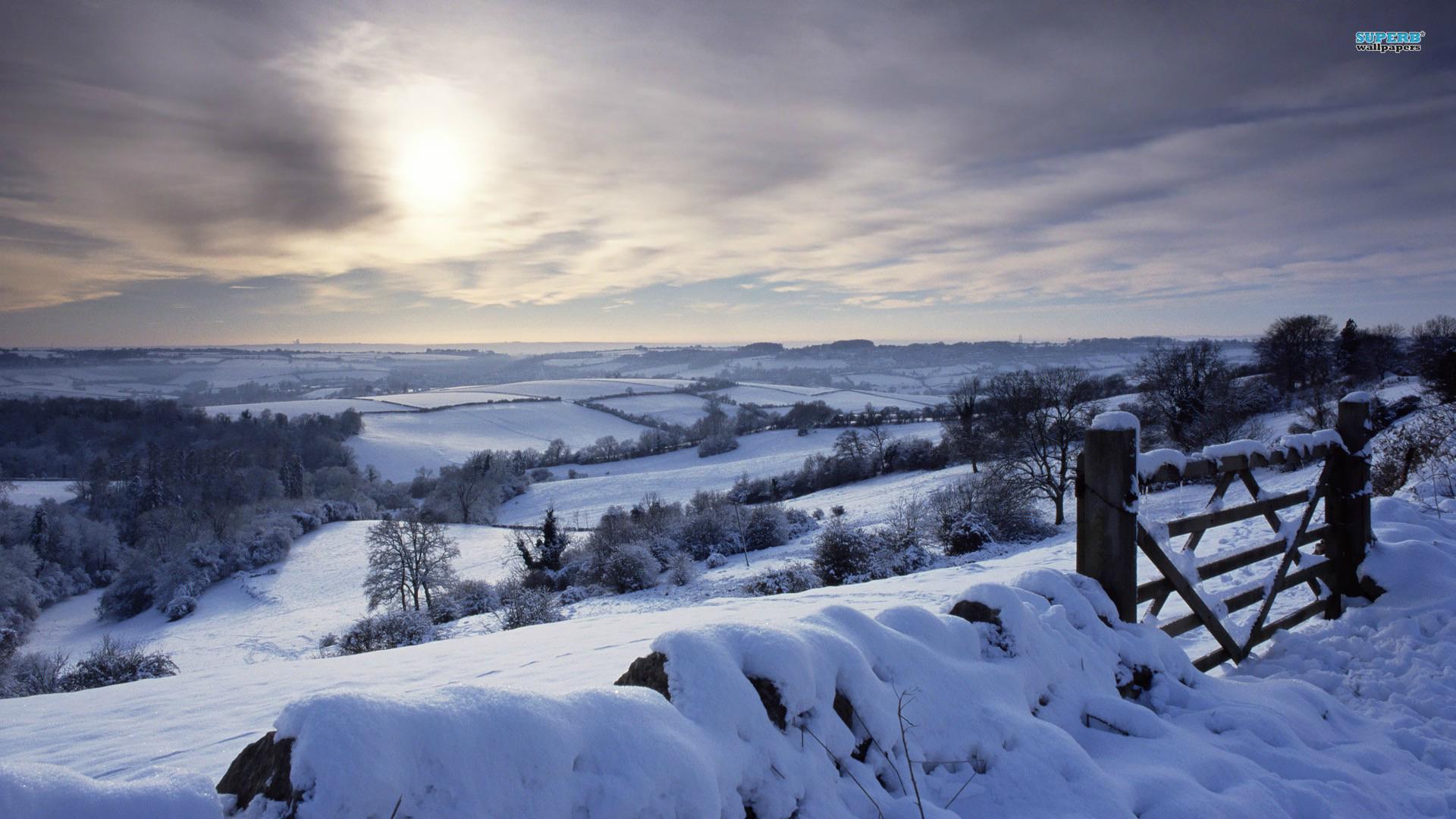 72 Winter Landscape Wallpapers On Wallpapersafari