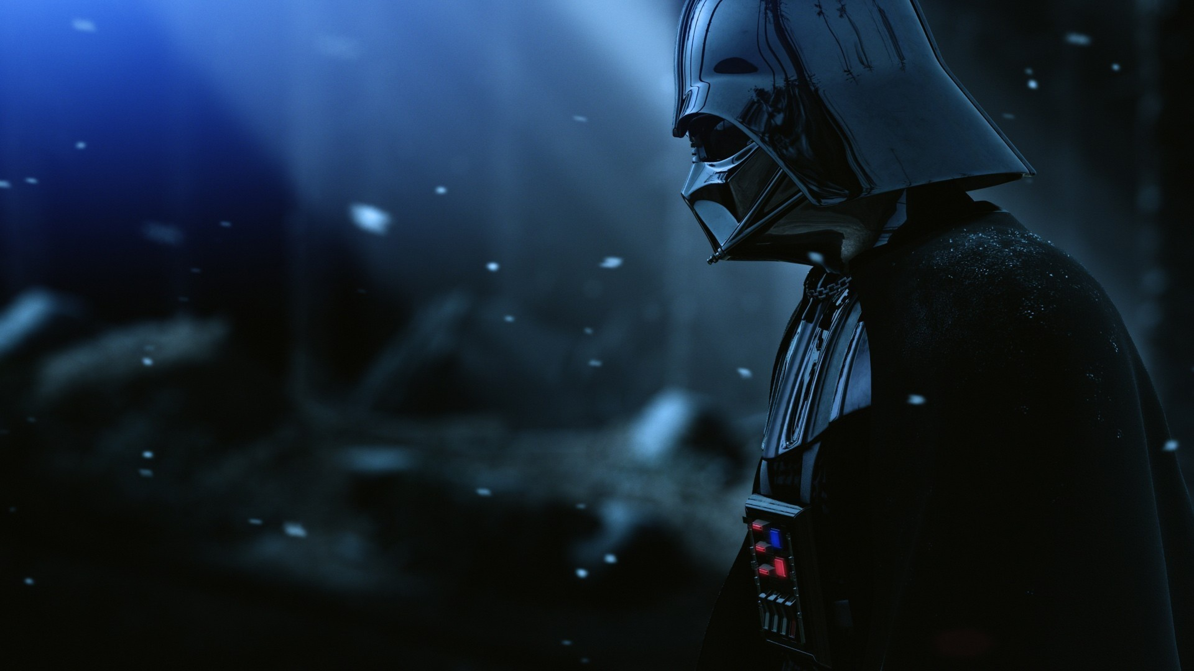 Armor Star wars Film Hat Snow Wallpaper Background 4K Ultra HD 3840x2160