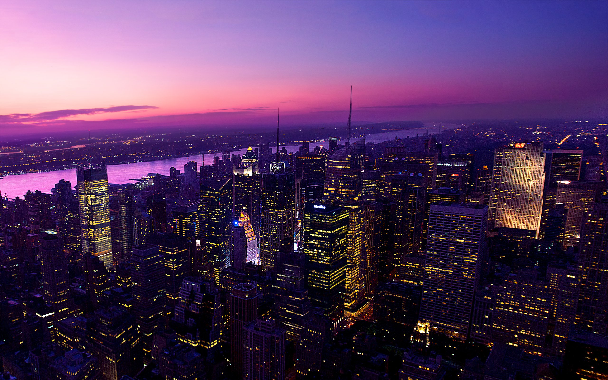 Twilight in New York City Wallpapers HD Wallpapers 2560x1600
