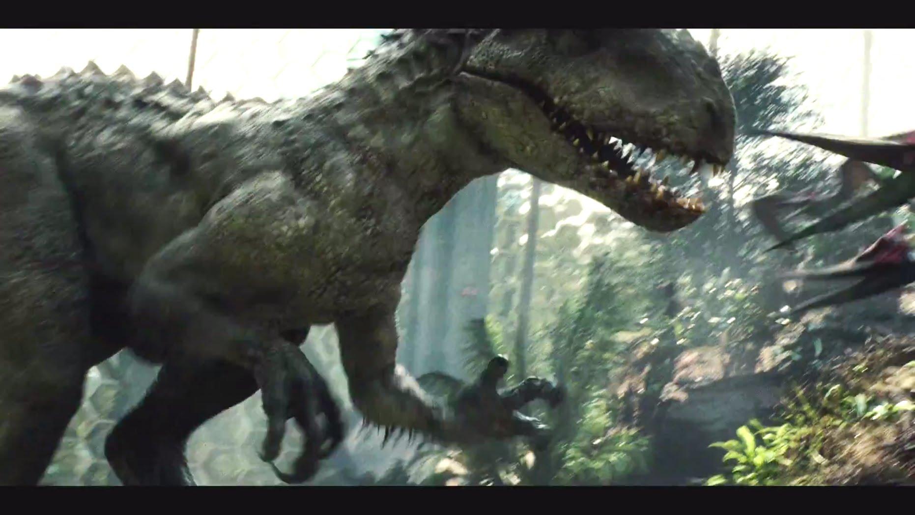 46+] Jurassic World T Rex Wallpaper on