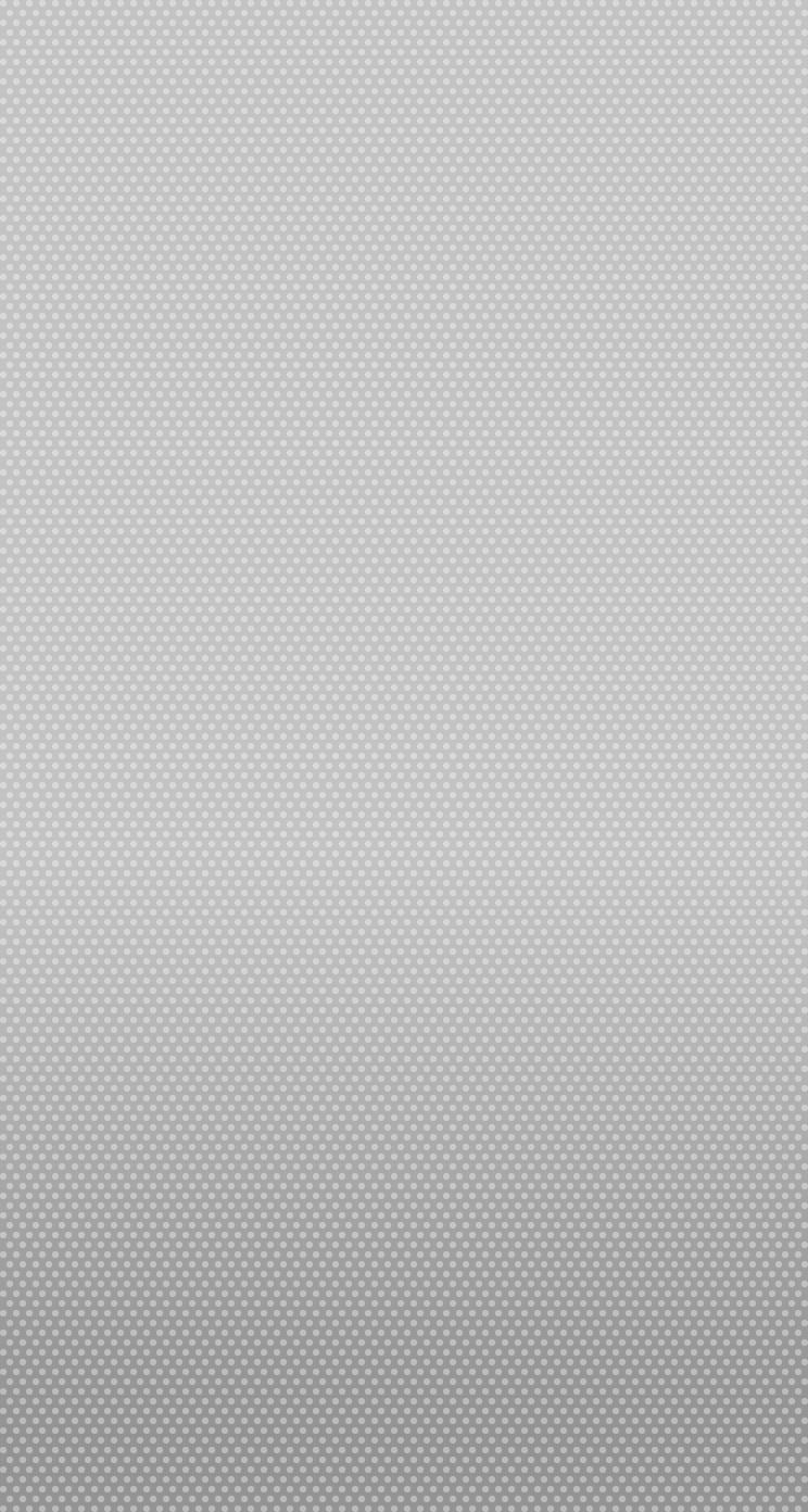 iPhone 5 Wallpaper iOS7 default grey dots plain 744x1392