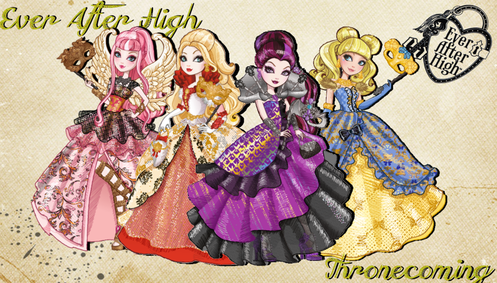 Ever After High Thronecoming Wallpaper by Wizplace 1024x584