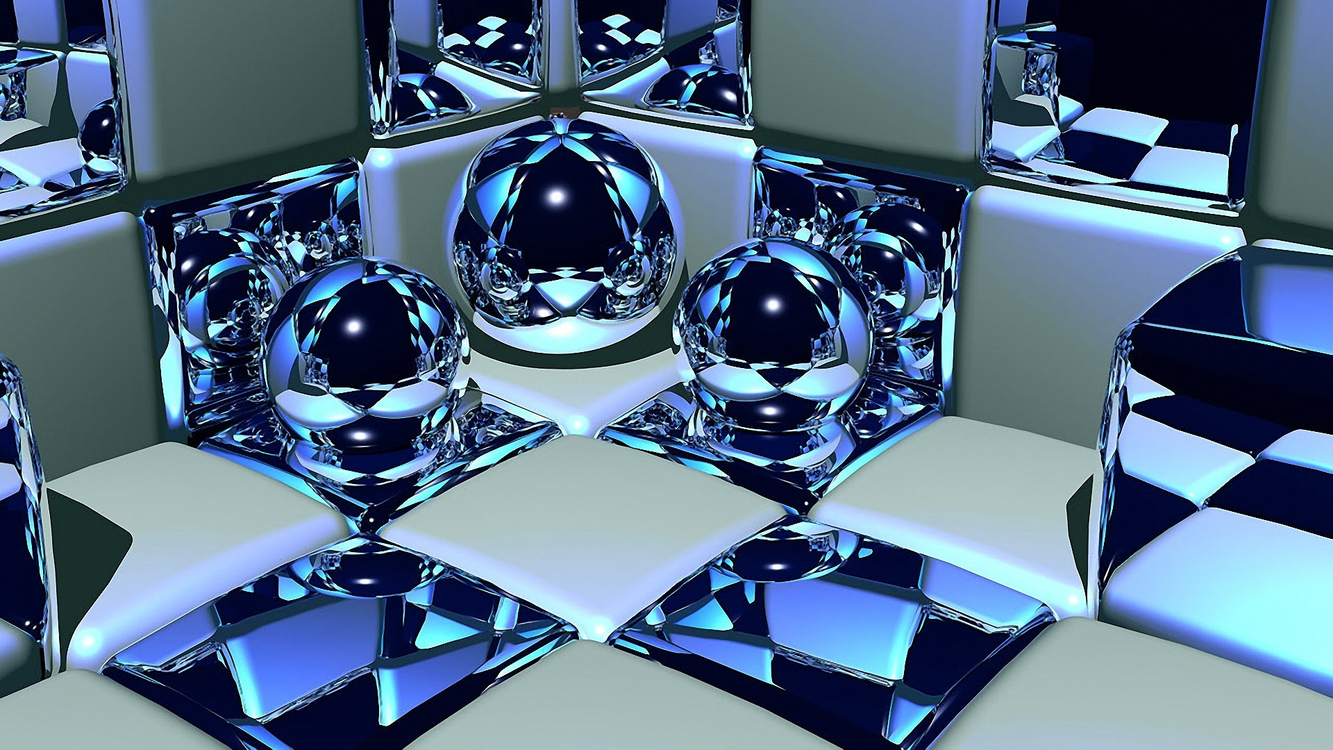 3d Cubes And Balls 6 Wallpaper Background Hd With Resolutions 1920 1920x1080