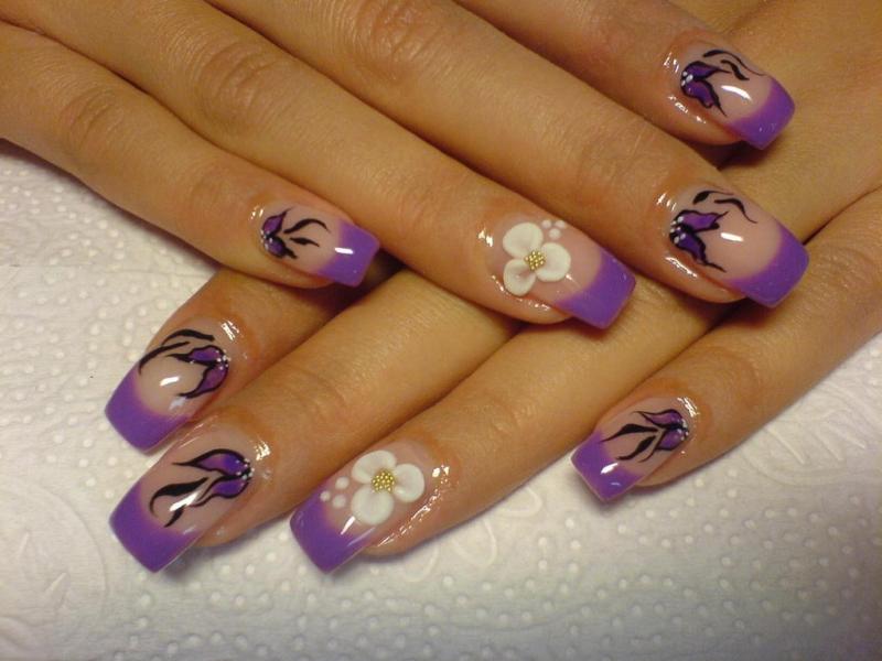 Crazy Nail Art Designs 800x600